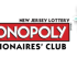 MONOPOLY MILLIONAIRES' CLUB NEW JERSEY