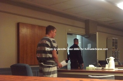 Hardwick Stires, 20, during his bail hearing. Photo by Jennifer Jean Miller.