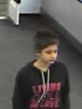 Franklin Walmart Theft Suspect. Photo courtesy of the Franklin Borough Police Department.