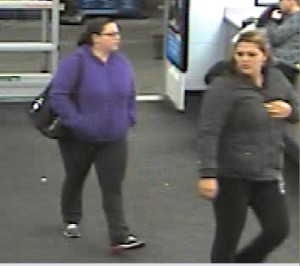Franklin Walmart theft suspects. Photo courtesy of the Franklin Borough Police Department.