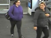 Angela Concepcion (right) was arrested in Newark for theft from the Franklin Walmart. Photo courtesy of the Franklin Borough Police Department.
