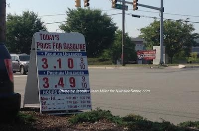 Costco's gas prices the day after Labor Day. Photo by Jennifer Jean Miller.