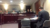 Members of the council discuss professional services during the borough council meeting. Photo by Jennifer Jean Miller.