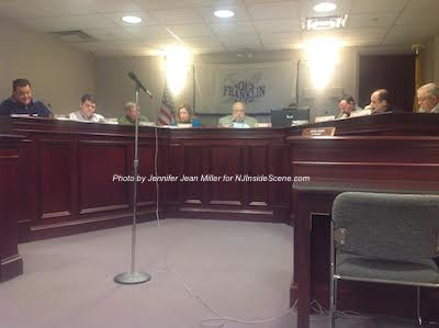 Members of the Franklin Borough Council during the first meeting of the year. Photo by Jennifer Jean Miller.