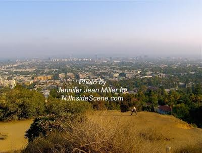 View from Runyon Canyon Park by Jennifer Jean Miller.