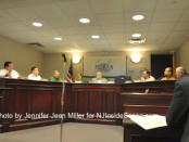 The Franklin Borough Council Meeting on Feb. 24. Photo by Jennifer Jean Miller.