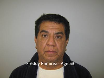 Freddy Ramirez, courtesy of the Sparta Police Department.