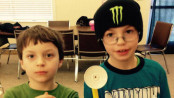 The Dohm brothers who were abducted by their father on Feb. 5. Jaxon is pictured at left and Parker at right. Photo courtesy of the Sussex County Prosecutor's Office.