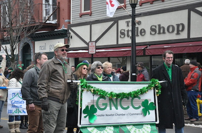The Greater Newton Chamber of Commerce (GNCC) has a presence in the parade. Photo by Jennifer Jean Miller.