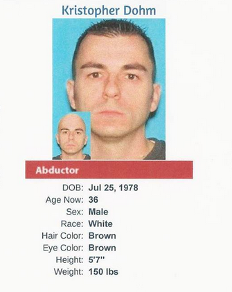 Kristopher Dohm - Courtesy of the National Center for Missing & Exploited Children.