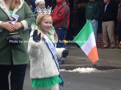 Little Miss Newton was one of the young ladies in the parade lineup. Photo by Jennifer Jean Miller.