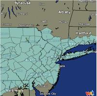 Radar Image courtesy of Weather Underground.
