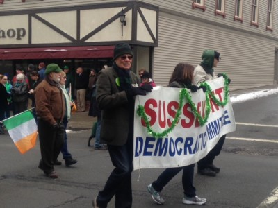 The Sussex County Democratic Committee in the parade. Photo by Jennifer Jean Miller.