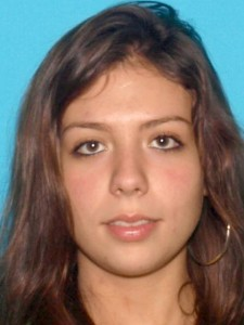 Caitlin Garcia, photo courtesy of the Hopatcong Police Department.