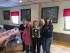 Irene Sallai (center) with her award. Image courtesy of Nick Giordano.
