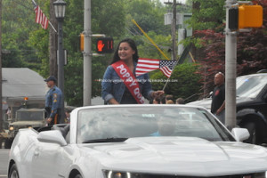 The parade's Poppy Queen. Photo by Jennifer Jean Miller.