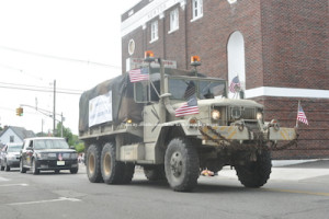 A truck from the American Legion. Photo by Jennifer Jean Miller.