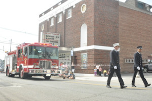 Andover Borough Fire Department. Photo by Jennifer Jean Miller.