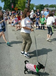 A four-legged parade participant. Photo by Debra Jane Ramirez.