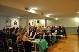 Guests at the Grand Marshal Dinner. Photo by Jennifer Jean Miller.