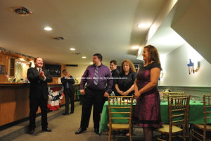 The Elks recognized for their work in the community. Photo by Jennifer Jean Miller.