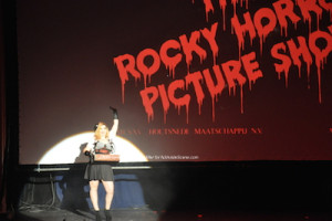 "The introduction of ""The Rocky Horror Picture Show."" Photo by Jennifer Jean Miller."