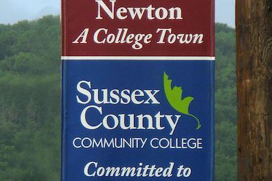 Sussex County Community College and The Town of Newton -