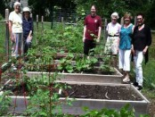 The Project Self-Sufficiency Community Garden. Photo provided.