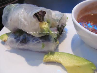 Summer Rolls at Lemongrass. Photo by The Secret Gourmet.