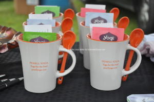 Mugs for sale from PEARLL Yoga for the Soul. Photo by Jennifer Jean Miller.