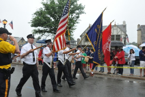 The Sparta Fire Department in the parade. Photo by Jennifer Jean Miller.