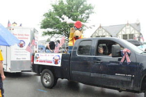 Sussex Elks in the parade. Photo by Jennifer Jean Miller.