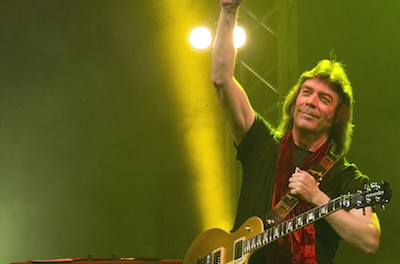 Steve Hackett, image courtesy of The Newton Theatre.