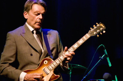 Jay Geils. Photo courtesy of The Newton Theatre.