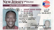 The veterans designation now available for veterans who provide proof for their New Jersey Drivers Licenses. Image courtesy of the NJMVC.