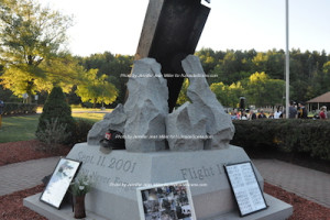 The Sussex County 9/11 Memorial. Photo by Jennifer Jean Miller.