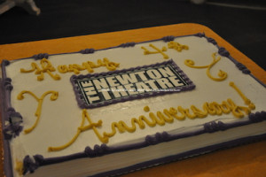 One of the theatre's celebratory cakes. Photo by Jennifer Jean Miller.