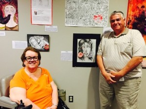 Proud parents of NJ artist, Michael Donatoni. Image courtesy of the Center for Prevention and Counseling.