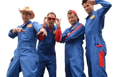 The Imagination Movers. Image courtesy of The Newton Theatre.