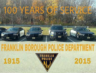 A tribute for the Franklin Police Department. Image courtesy of Rafael Burgos.