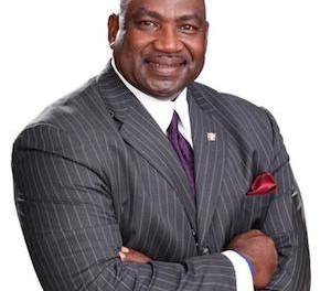 Former New York Giants defensive end, author and motivational speaker George Martin will speak at an event in support of the Christ Church Newton Helping Hands program. Photo courtesy of Project Self-Sufficiency.
