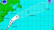 Hurricane Joaquin's expected track. Image courtesy of the National Weather Service.
