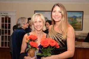 Honoree Diane Taylor (left) with event organizer Alexandra Miller (left). Photo provided.