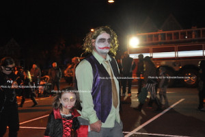 """The Joker"" hits the catwalk to be judged during the costume contest. Photo by AJ for NJInsideScene."