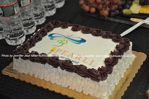 PEARLL's celebratory cake. Photo by Jennifer Jean Miller.
