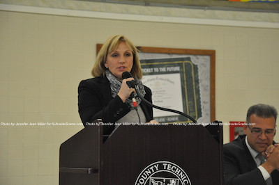 Lieutenant Governor/Acting Governor Kim Guadagno. Photo by Jennifer Jean Miller.
