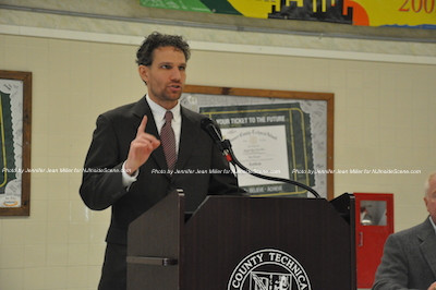 Jonathan Rose, newly elected and selected Sussex County Freeholder. Photo by Jennifer Jean Miller.