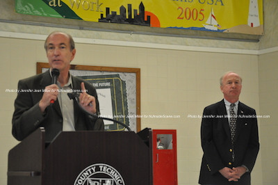 Congressman Scott Garrett (left), Congressman Rodney Frelinghuysen (right). Photo by Jennifer Jean Miller.