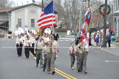 At the start of the parade. Photo by Jennifer Jean Miller.