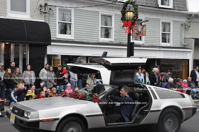 "The ""Back to the Future"" Delorean. Photo by Jennifer Jean Miller."
